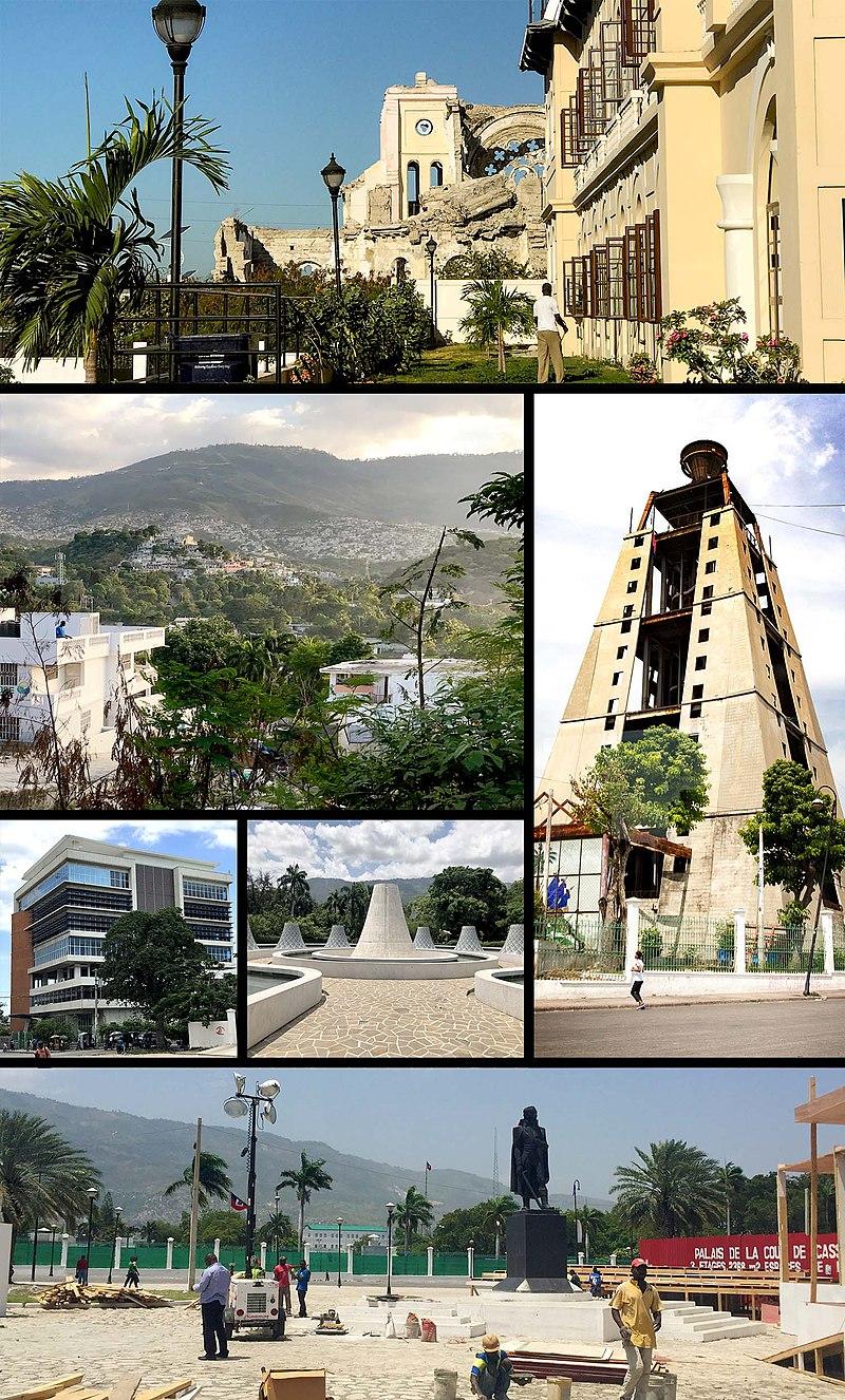 Port Au Prince Montage Port Au Prince Wikipedia In 2020 Port Au Prince Port Prince