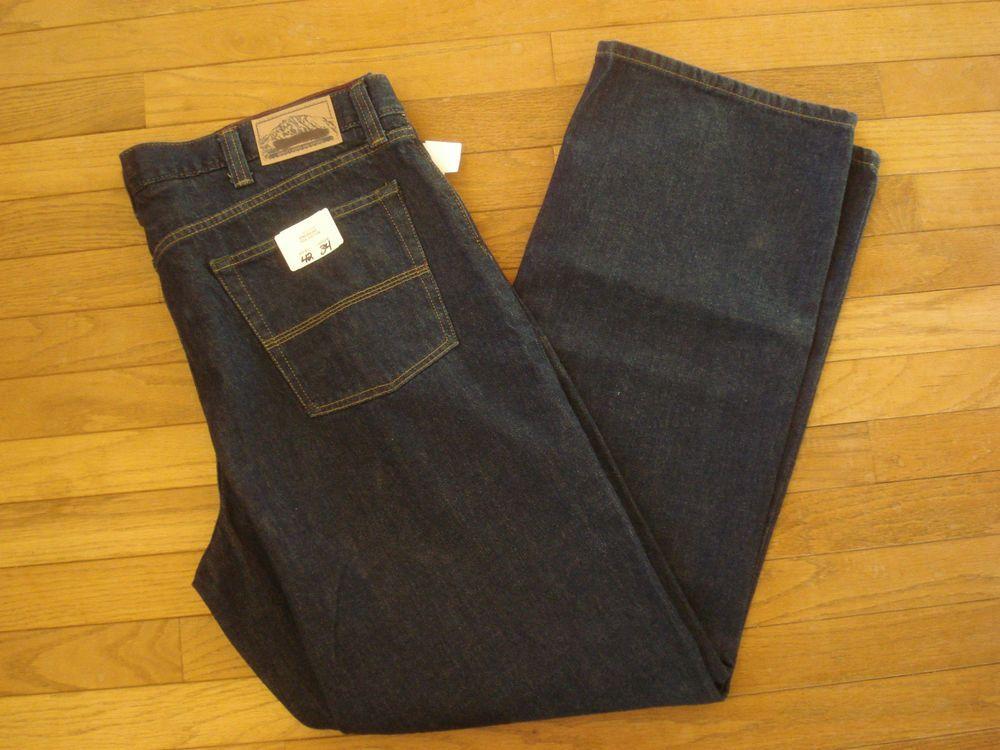 Jeans Ll Bean Standard Fit Dark Blue Jeans 33x30