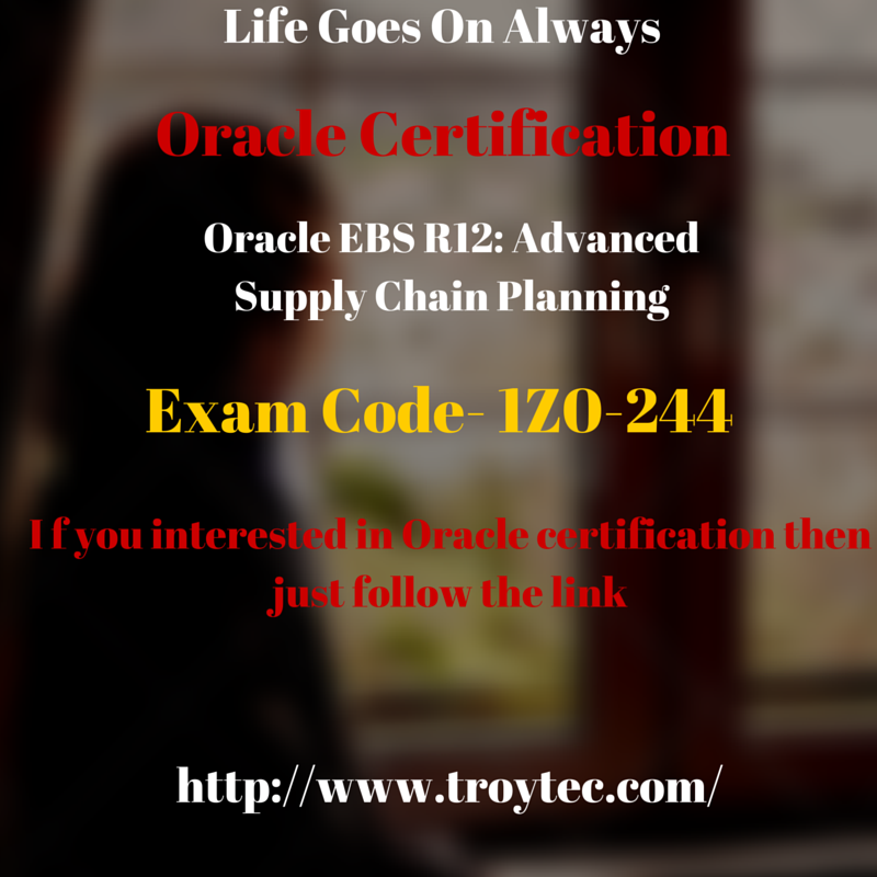 Http://www.troytec.com/1Z0-244-exams.html (With Images