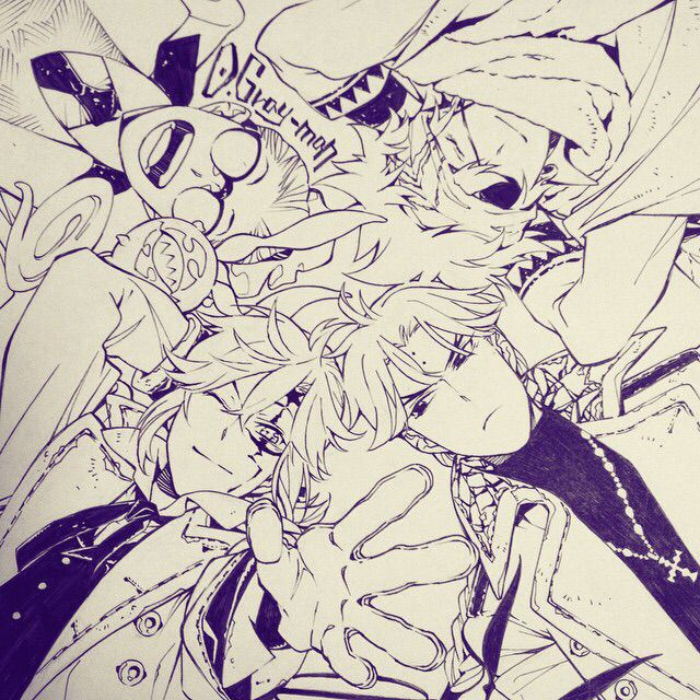 Johnny, Lavi, Link, Allen and Timcanpy