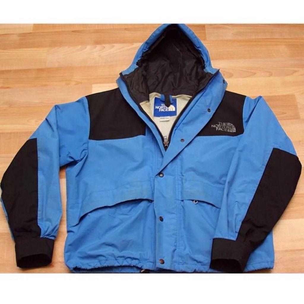 5453bb1d3 Vintage North Face Mountain Jacket 80's SilkScreen. Made In USA ...