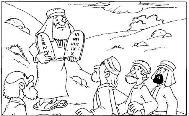 Me Aburre La Religion Dios Le Da La Ley A Moises Artesania Biblica 10 Mandamientos Para Ninos Semana Santa Ninos