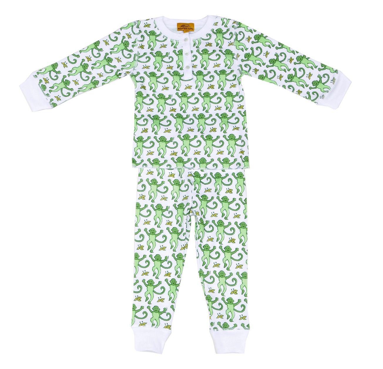 Green Monkey pjs - just for kids!