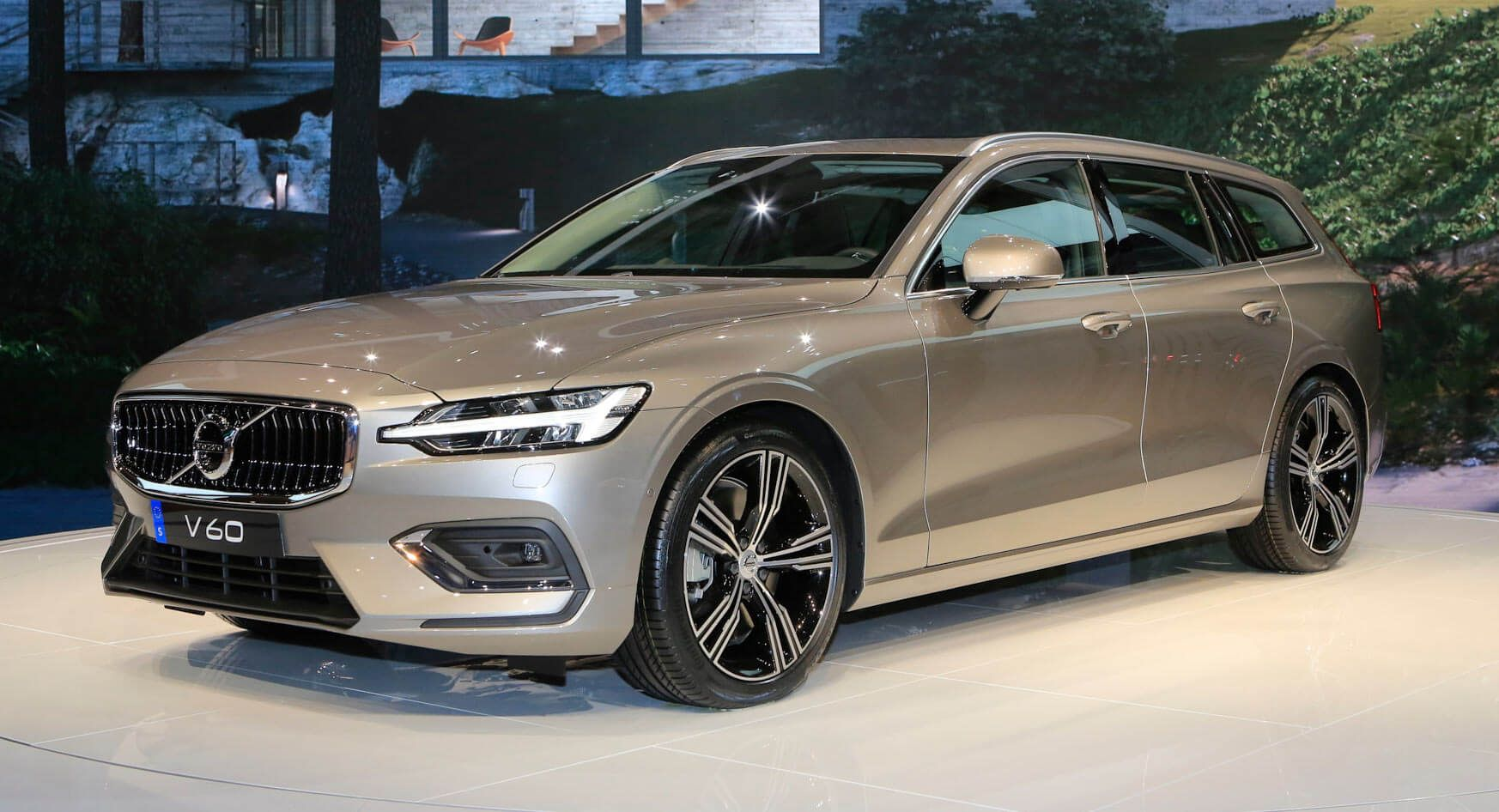 Check Out Volvo's New V60 Wagon From The Geneva Show Floor