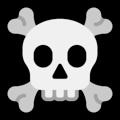 Skull And Crossbones Emoji Skull And Crossbones Crossbones Skull