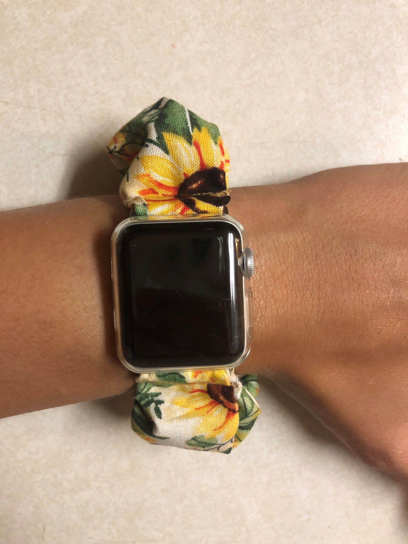 Sunflower 3 Smart Watch Scrunchie in 2020 Apple watch