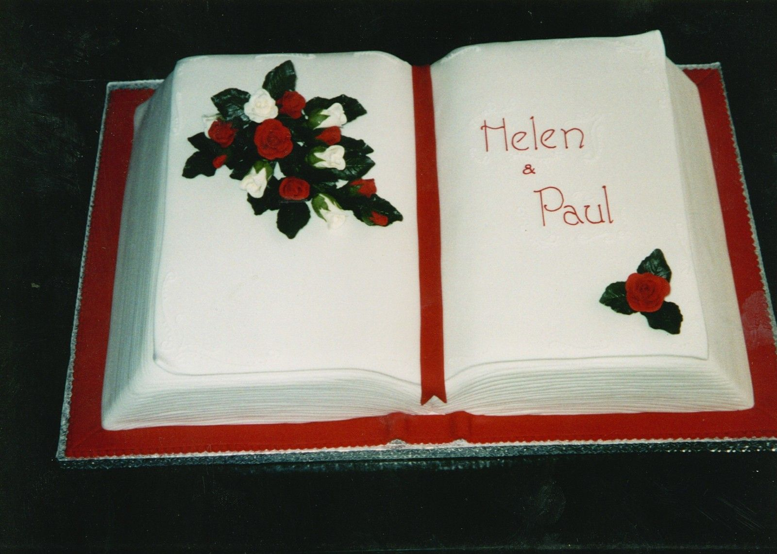 Cake With Book Design : Christening Open Book Cake Ideas And Designs DIY ideas ...