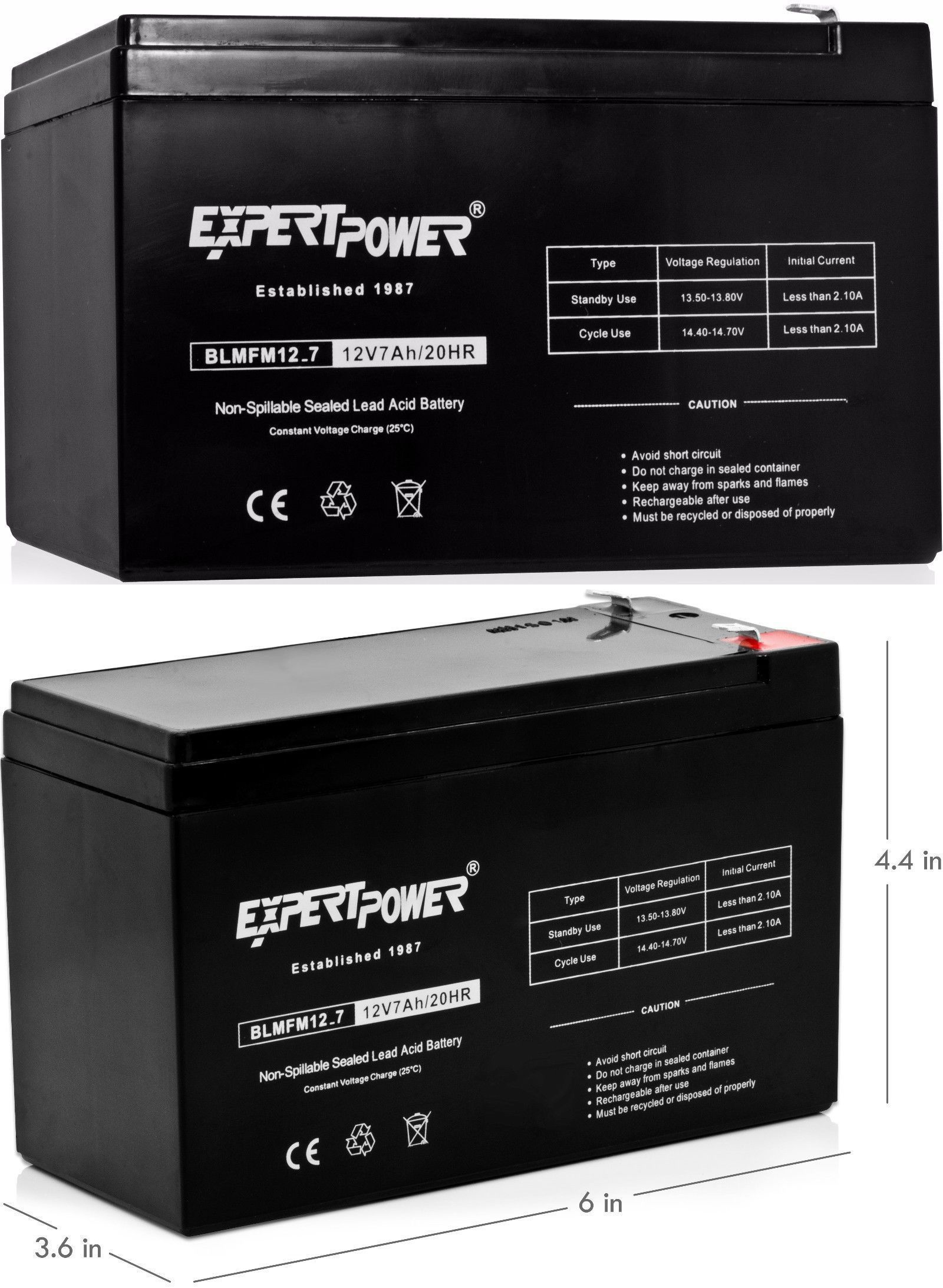 Expertpower Exp1270 12v 7amp Rechargeable Universal Sealed Lead Acid Sealedleadacid Battery Charger Circuits Multipurpose Batteries And Power 48446