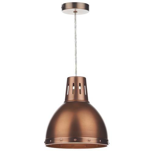 DAR OSA6564 Osaka Antique Copper Non Electric Pendant Light (2 Pack) (Dar Lighting OSA6564) - discounthomelighting