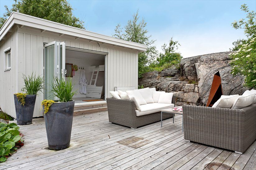 Friggebod i sk rg rden small swedish 39 friggebod 39 in the archipelago living outdoor - Skandinavisches gartenhaus ...