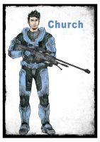 Church Red vs Blue by Minkilo
