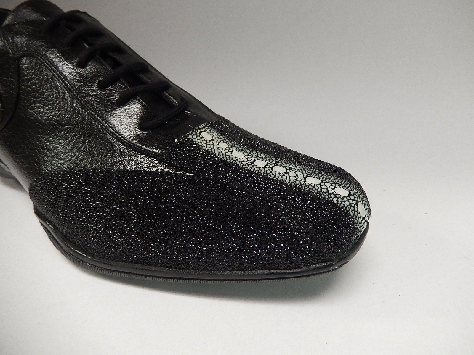 Wild West Boots Stingray Pebble Grain Sneakers