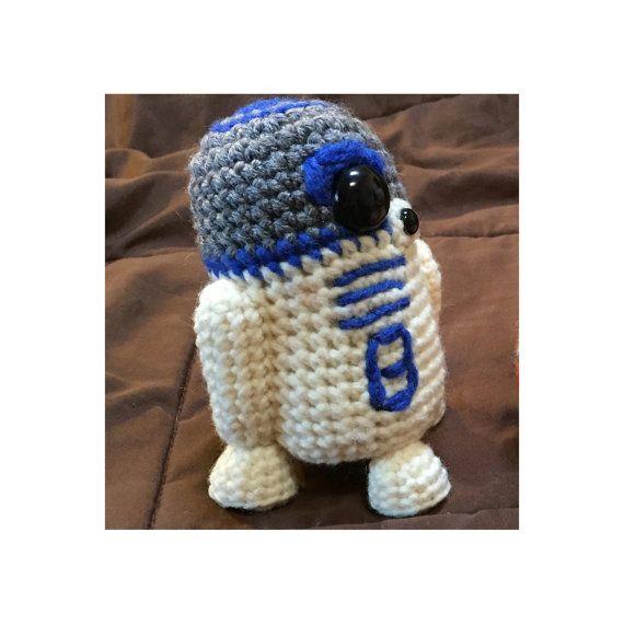 BB8 AND R2D2 Star Wars Inspired Crochet Patterns 2 for 1 | Häkeln ...
