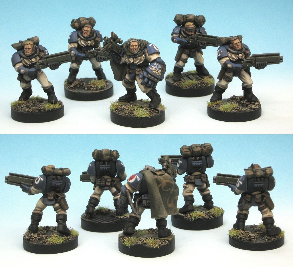 General Warhammer 40k Space Marines: Scout Powerfist Conversions?
