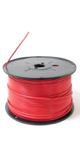 10 Gauge Awg Wire 1000 Ft Spool Red Cable Power Ground Stranded Copper Primary Hho Amp By Hydroclubusa 354 37 1 1000 Electrical Wiring Home Electricity