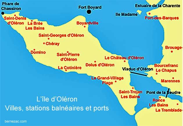 The Island Of Oleron Is A Holiday Destination In Charente Maritime