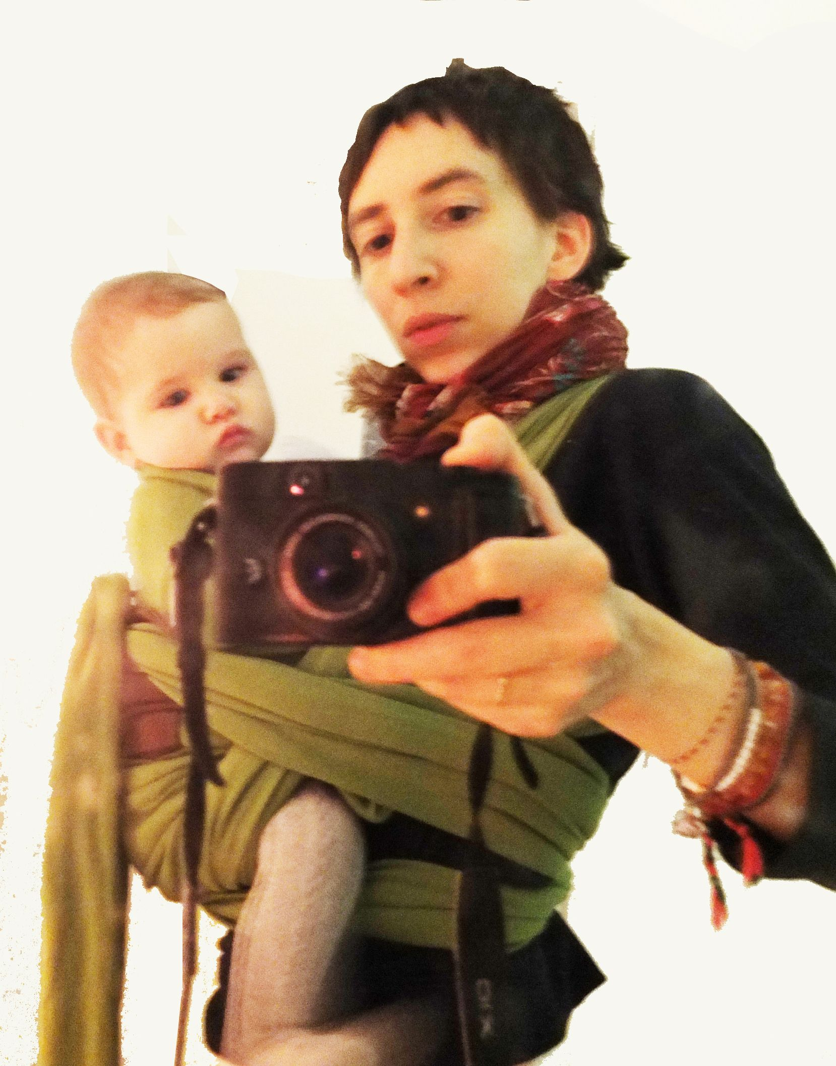 72b0408ea11 Loulou Maya and a non-hip hippie  babywearing  kindparenting  attachment   attachmentparenting
