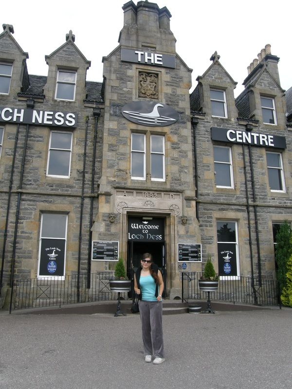Loch Ness Center in Drumnadrochit Scotland. We didn't see Nessie, but still had a grand time.