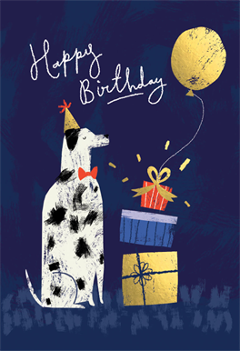 Dog Years Printable Card Customize Add Text And Photos Print For Free Greetingcards Diy Birthday