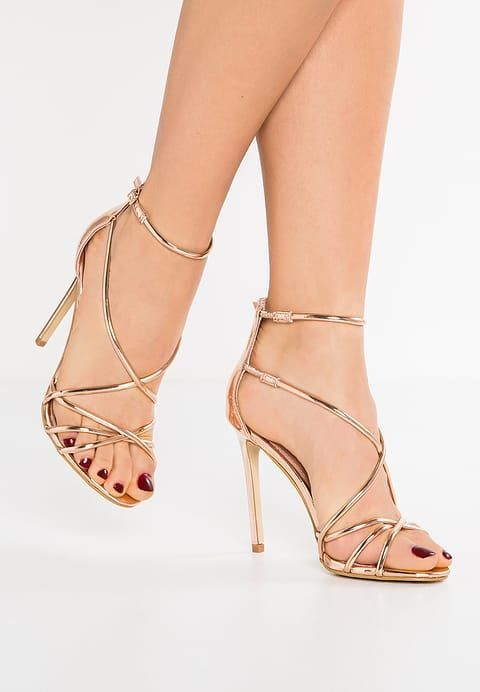 SATIRE - High Heel Sandaletten - rose gold - Zalando.de