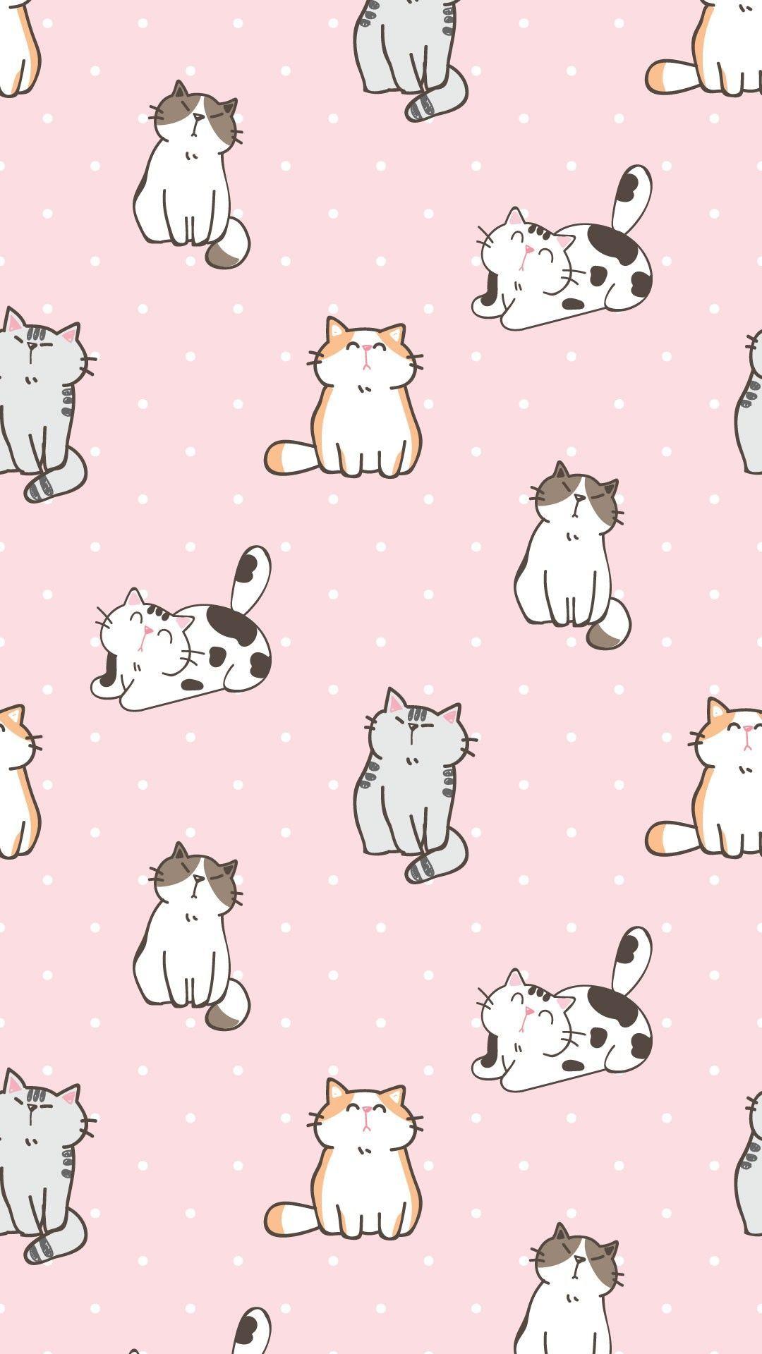 20 Kitty cat wallpaper ideas in 20   cat wallpaper, wallpaper ...