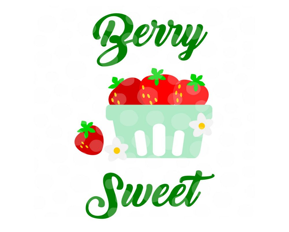 View Sweeter Than A Strawberry Svg SVG