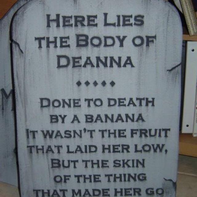 tombstone - Funny Halloween Tombstones