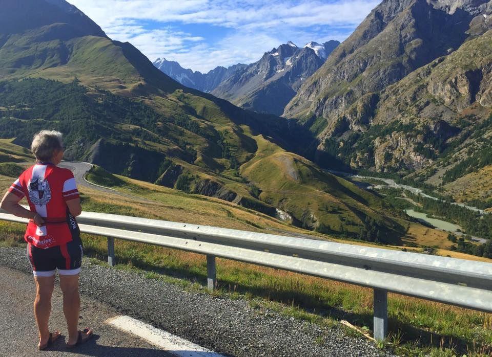 Yep, not a bad vista! www.bike...