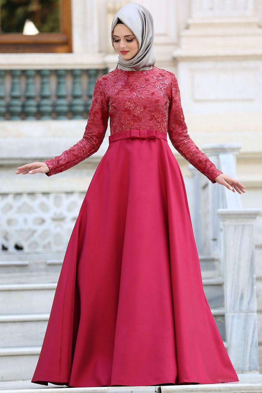 Kırmızı Nişan Elbise Modelleri 20192019