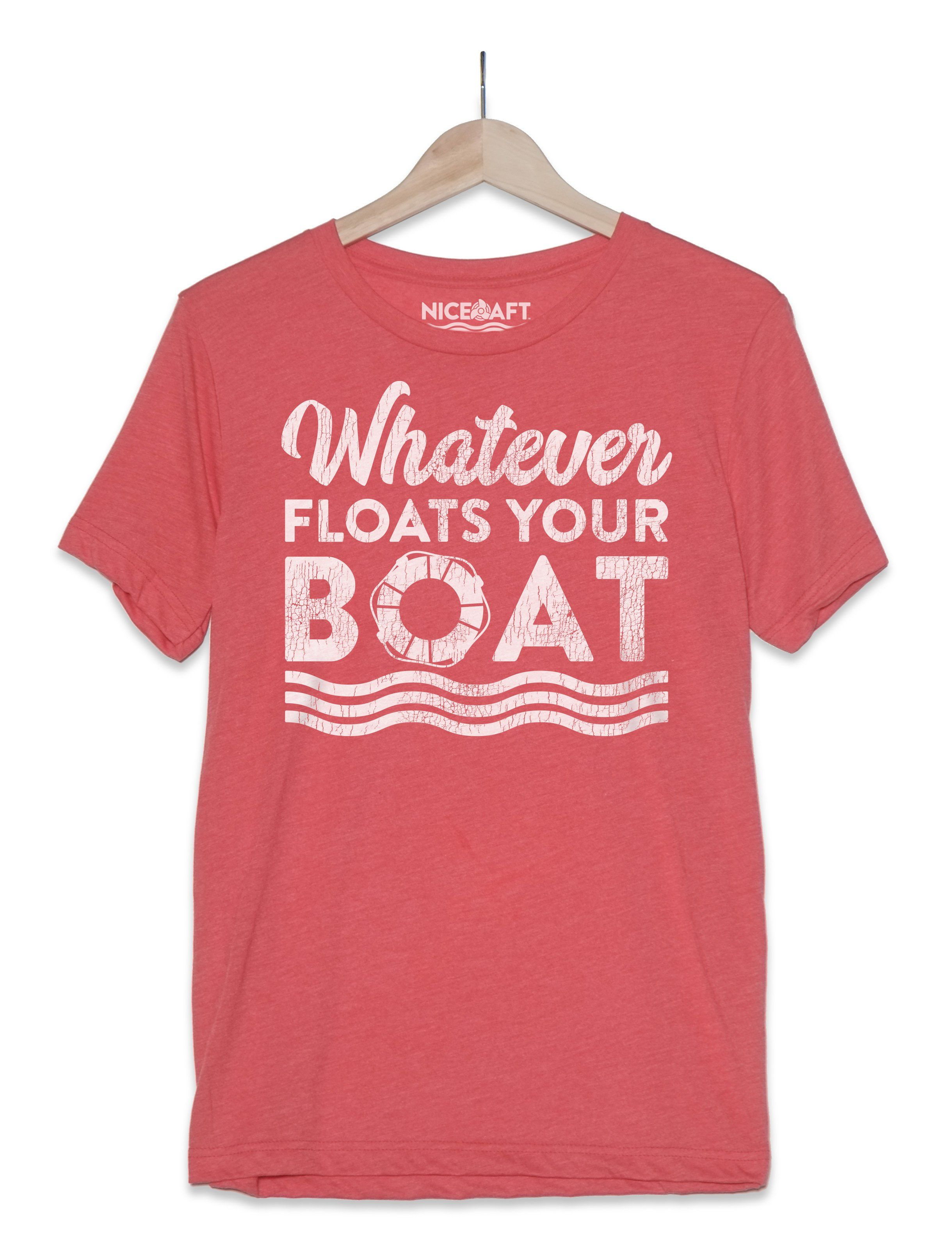 Boat shirt whatever floats your boat boat shirts