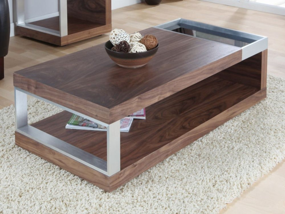 Jual Cube Walnut Black Gl Coffee Table Features A Design For Contemporary Look Fads Offer Rapid Free Delivery On Everything