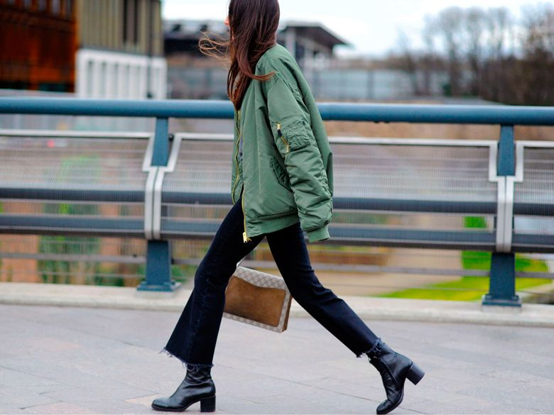 Streetstyle Fashion Week : 12 façons de porter le bomber