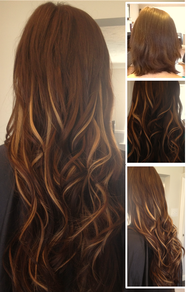 Micro Ring Hair Extensions In Chicago Skin Skin Weft Hair Fusion