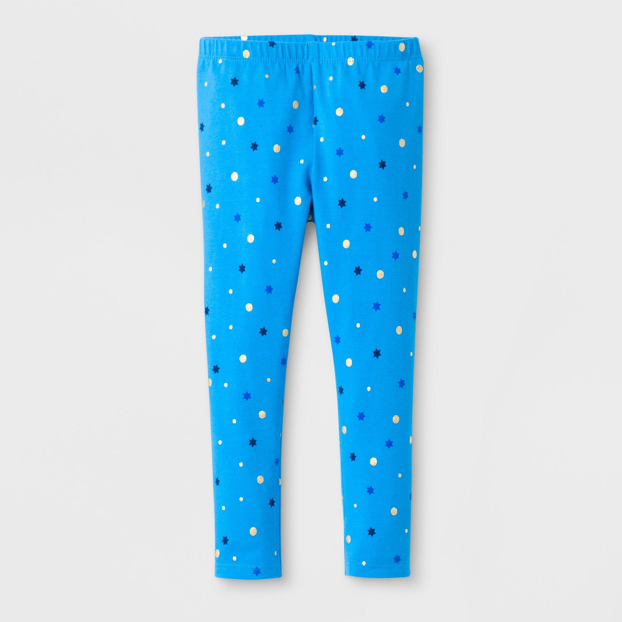 70c34e3b4e77f Toddler Girls' Christmas Leggings Pants - Cat & Jack™ Electra Blue ...