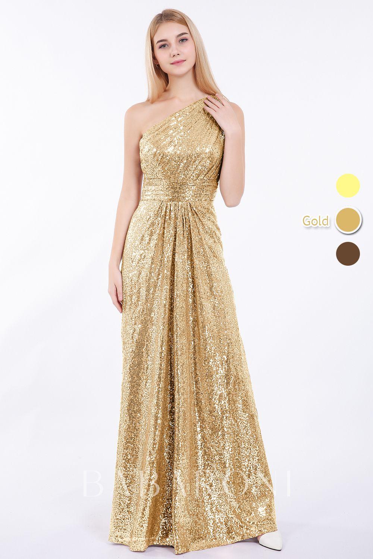 Babaroni Claire  Pailletten kleid, Schöne ballkleider, Goldenes kleid