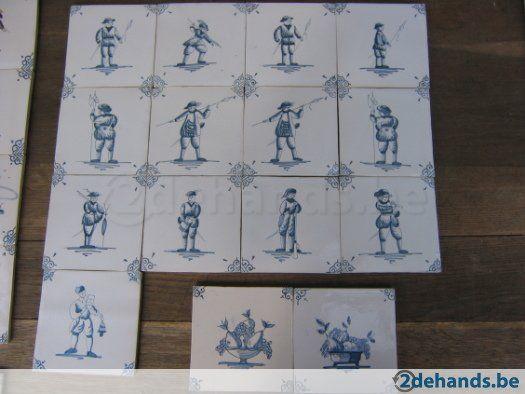 Delfts Blauwe Tegels : Cm delftsblauwe tegels met afbeeldingen verbouwingen duplex