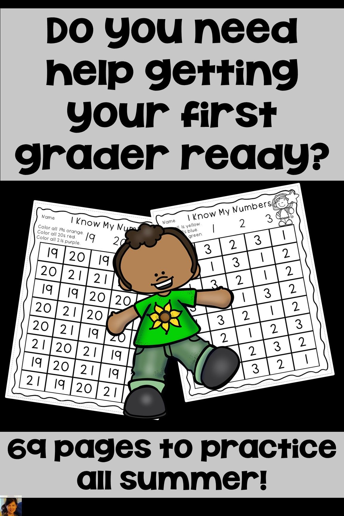 Get Ready For First Grade Summer Skills Packet