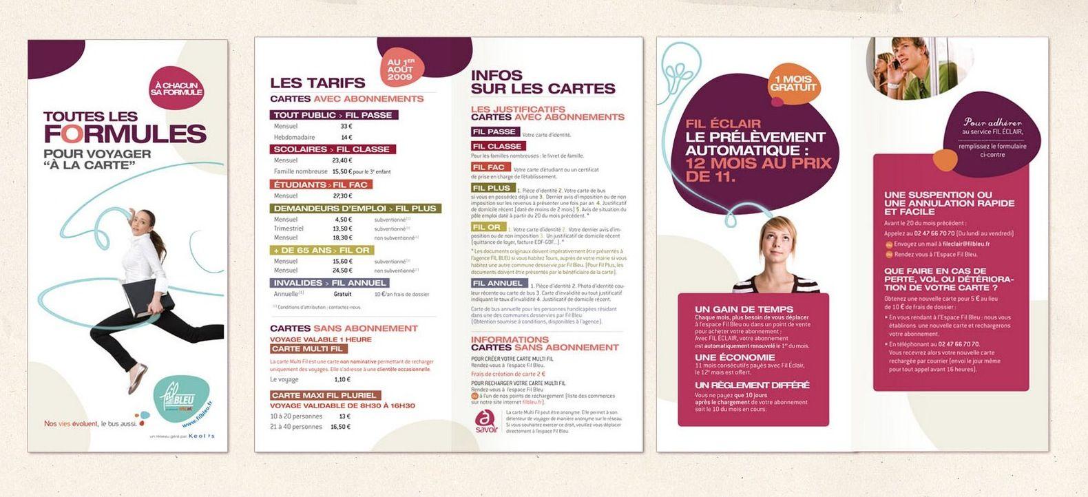 Www Elleetluicommunication Fr Agence De Communication Depliant