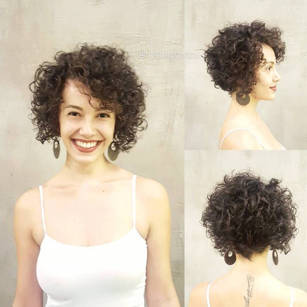 60 Most Delightful Short Wavy Hairstyles Curly Hair Styles Naturally Short Curly Bob Hairstyles Curly Hair Styles