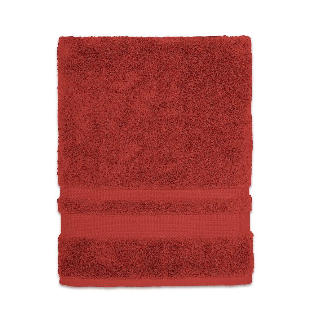 Martex Supima Luxe Bath Towel Red Bath Towels Towel Bath