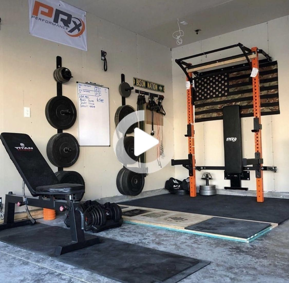 Home Gym Design Ideas Basement: Lift Big In Small Spaces (as Seen On
