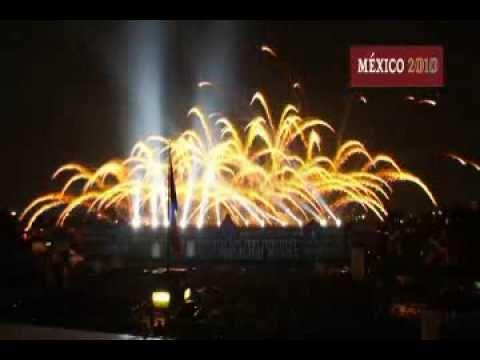 (3) Espectáculo de video, luz y sonido. Bicentenario México 2010 - YouTube