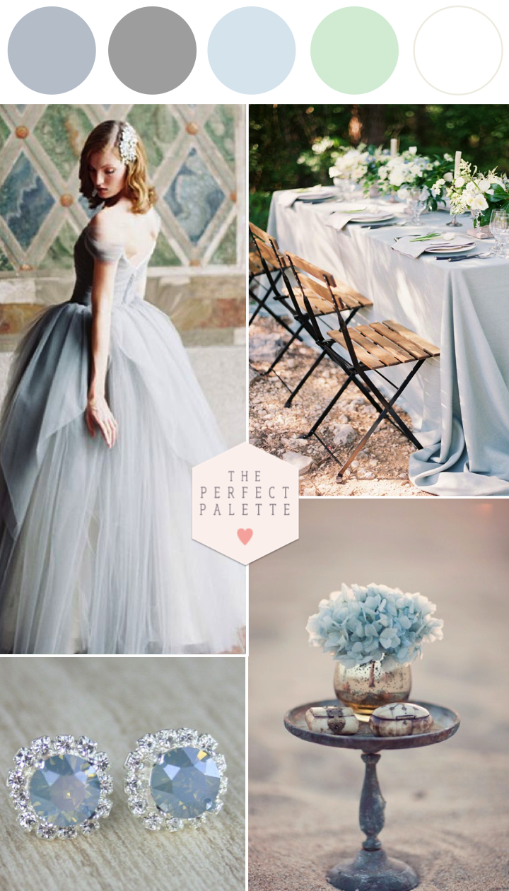 Frost blue wedding inspiration wedding blue wedding colors and