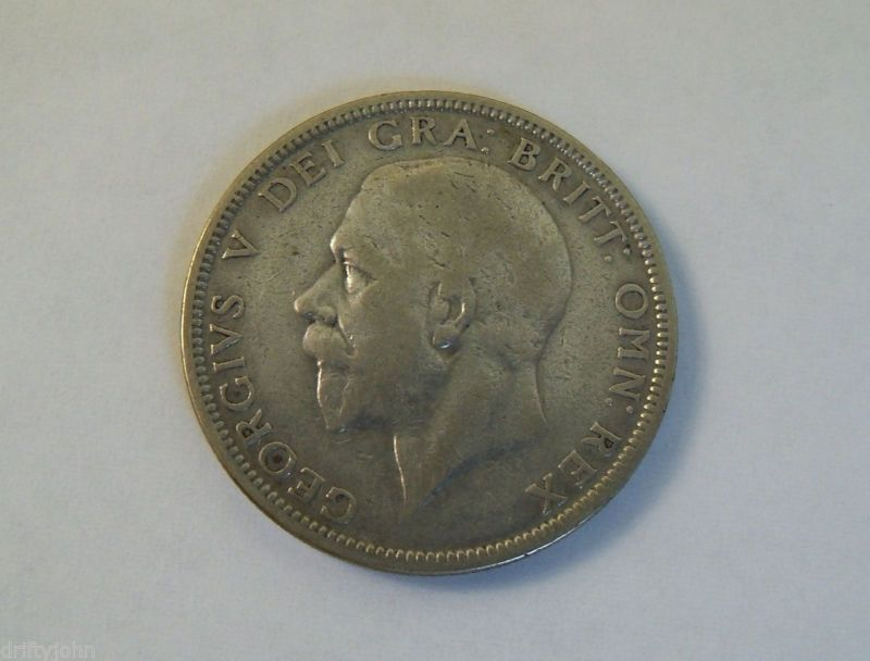 Coin: Great Britain 1931 One Florin ----- (  Very Nice Detail  )