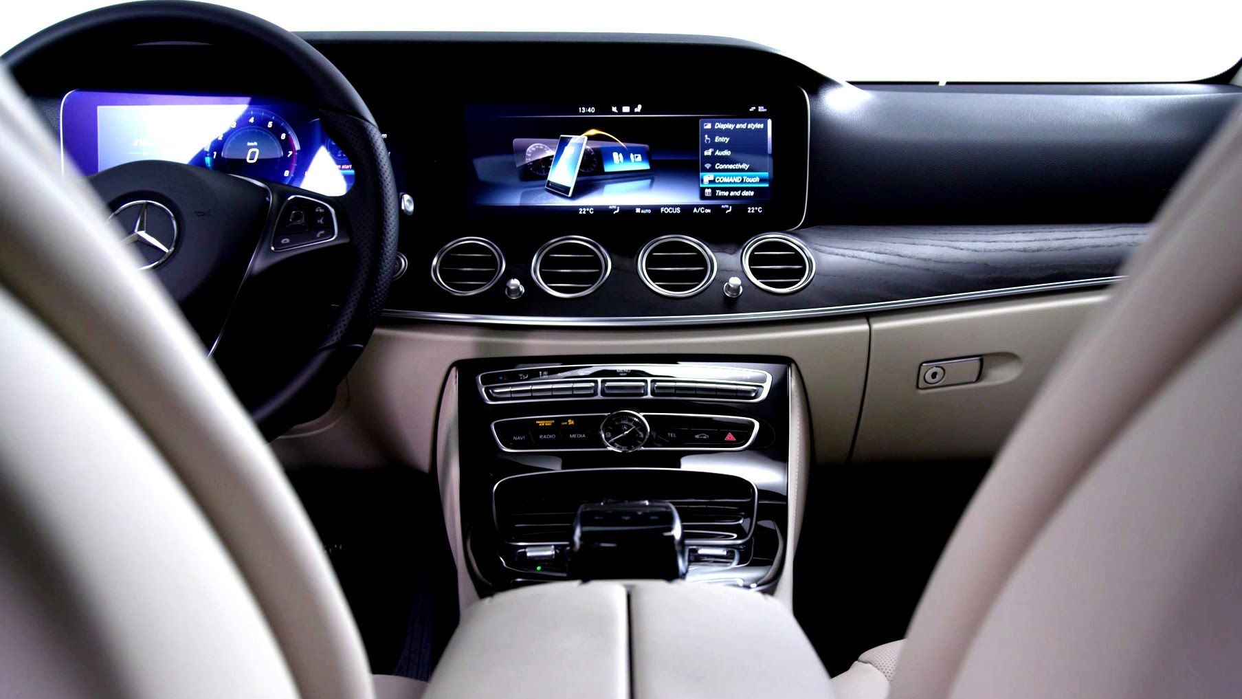 Mercedes Benz Tv Interior Design Of The Future E Class
