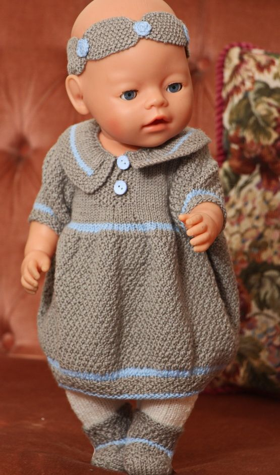 My lovely doll Nora was beautiful in this dress Design: Målfrid ...