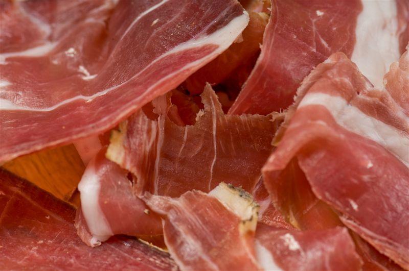 Your senses will love istrian prosciutto #istra #istria #croatia #adriatic #sea #food #prosciutto