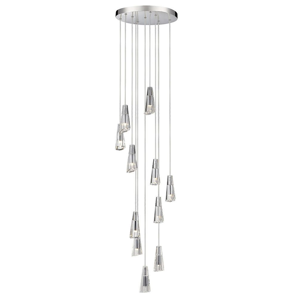 Marquis by waterford glyde led 11 light bathroom ceiling pendant marquis by waterford glyde led 11 light bathroom ceiling pendant chrome arubaitofo Gallery