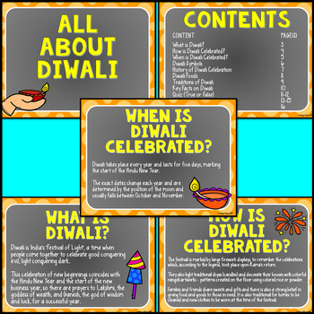 Diwali PowerPoint Editable (All About Diwali Facts with