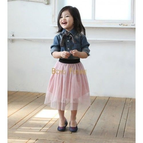 28fbfb45b2 Girls Toddler Long Tulle Skirt. Girls Toddler Long Tulle Skirt Toddler  Fashion